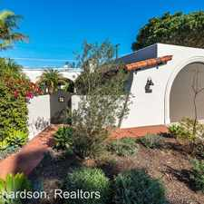 Rental info for 1700 La Coronilla