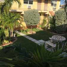 Rental info for Nice size 1/1 in Knoll ridge area, close to shops/dining, available now.... in the Fort Lauderdale area