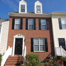Rental info for Apex Townhome for Rent in the Cary area