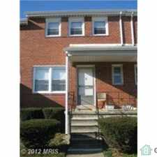 Rental info for Large End of Group - Recently Remodeled THIS HOUSE IS IN THE COUNTY in the Pikesville area