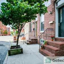 Rental info for NICELY RENOVATED 3 BR 2.5 BA IN FEDERAL HILL! in the Baltimore area