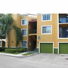 Rental info for 2351 West Preserve Way in the Miramar area