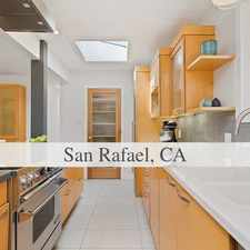 Rental info for Beautiful Eichler Style Home In San Rafael.