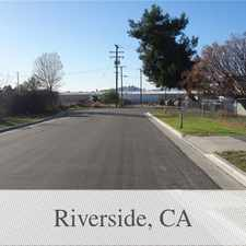 Rental info for Single Family Home/duplex Ready For Occupancy. ... in the Riverside area