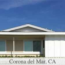 Rental info for Welcome Home To This Single Level Attached Home... in the Newport Beach area