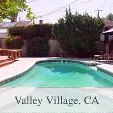 Rental info for Valley Village - Ready To Move In. Washer/Dryer... in the Los Angeles area