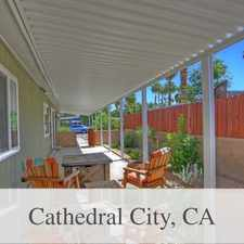Rental info for The Best Of The Best In The City Of Cathedral C... in the Cathedral City area