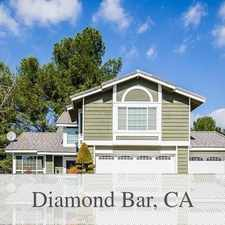 Rental info for House For Rent In. Parking Available! in the Diamond Bar area