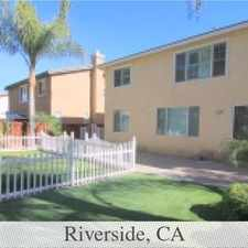 Rental info for This Home Is Located In A Gated Community In Th... in the Riverside area