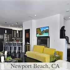 Rental info for Spectacular 2013 Built Urban Living On The Peni... in the Newport Beach area