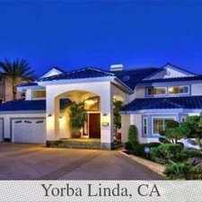 Rental info for Great Central Location 6 Bedroom, 4 Bath in the Yorba Linda area