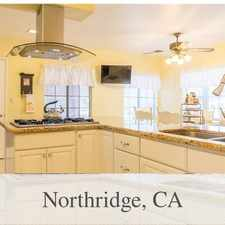Rental info for Beautiful Northridge House For Rent in the Los Angeles area