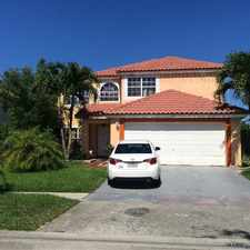 Rental info for 1521 SW 87th Ter in the Pembroke Pines area