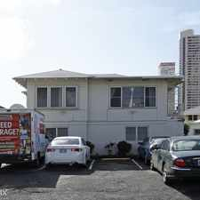Rental info for 707 Hausten D in the Honolulu area