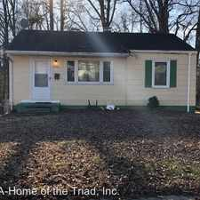 Rental info for 1506 Plymouth Street in the Asheboro Community area