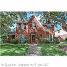 Rental info for 6026 Amelia Terrace Ct. in the Houston area