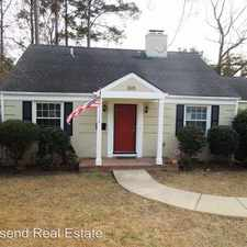 Rental info for 505 Rush Rd in the Douglas Byrd area