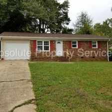 Rental info for Brick home on large lot!