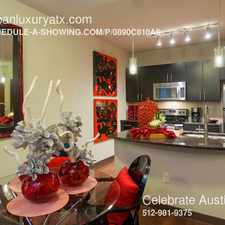 Rental info for 3739 S. 1st in the Austin area