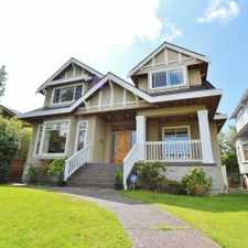 Rental info for 2012 West 35th Avenue in the Shaughnessy area