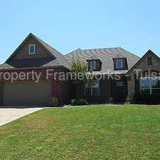 Rental info for SPACIOUS 4 BED 3 BATH IN STONE WOOD HILLS! in the Tulsa area