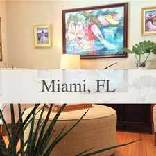 Rental info for Elegant & Tropical Resort-style Living In T... in the Miami area