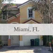 Rental info for House For Rent In Miami. in the Kendall West area