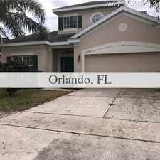 Rental info for 2-Story Beautiful Home With Water. in the Orlando area