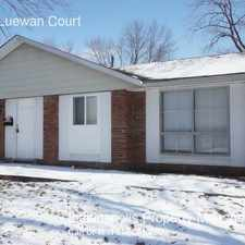 Rental info for 3525 N Luewan Court in the Indianapolis area