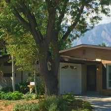 Rental info for 285 South 39th Street in the Boulder area