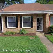 Rental info for 521 Lanier Crescent in the Chesapeake area