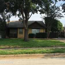 Rental info for 308 Bluegrass Lane in the Fort Worth area