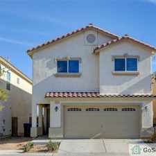 Rental info for Beautiful 3 bed, 2 bath - with a large master bedroom retreat. nice open layout and 2 car garage. won't last long! in the North Las Vegas area