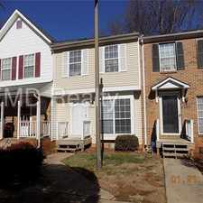 Rental info for beautiful 2 bed townhome in the Charlotte area