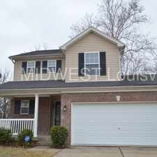 Rental info for 3bedroom 2.5 Bath Home in Highview in the Highview area