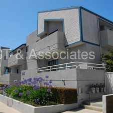 Rental info for Nice Modern 2 + 2 Townhouse-style Apartment with W. & D. hookups! in the Santa Monica area