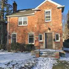 Rental info for Stunning Colonial On Penrod in the Detroit area