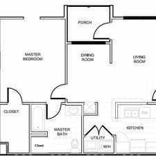 Rental info for BRAND NEW! 1 Bedroom/1ba Apartments Now Crossing