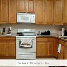 Rental info for This 2 Bed 2 Bath Condominium Is A Must See. Wi... in the Minneapolis area