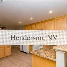 Rental info for House For Rent In Henderson. Parking Available! in the Henderson area