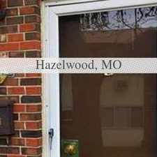 Rental info for Very Nice 3 Bedroom Townhome. in the Florissant area