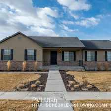 Rental info for 2156 E Winterway in the Eagle Mountain area