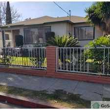 Rental info for Casa duplex 4/2 independiente. Electrodomésticos de cocina incluidos. Espacio para 2 autos. 4/2 unattached duplex with 2 parking spaces. Laundry hookup. Appliances included. Deposit NEGOTIABLE. Final rent amount will be negotiated with section 8. in the Watts area