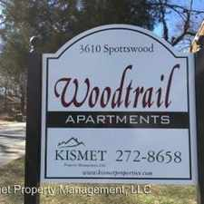 Rental info for 3602- 3616 Spottswood in the Memphis area