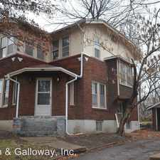 Rental info for 318 N. Tenth St.