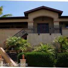 Rental info for 3061 McGraw Street in the San Diego area