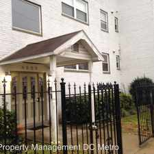 Rental info for 4929 Foote St. N.E Unit 9 in the Washington D.C. area