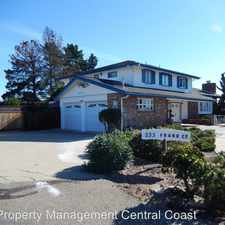 Rental info for 233 Frank Court in the Nipomo area