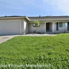Rental info for 1054 Drexel Way in the San Jose area
