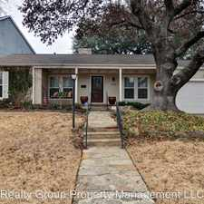 Rental info for 3725 Westcliff Road North in the Fort Worth area